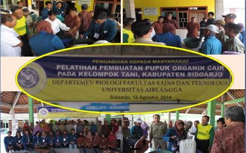 Pengabdian Masyarakat 2014 di Kabupaten Sidoarjo