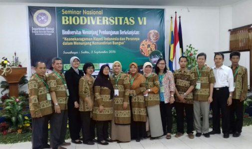 Seminar Nasional Biodiversitas VI
