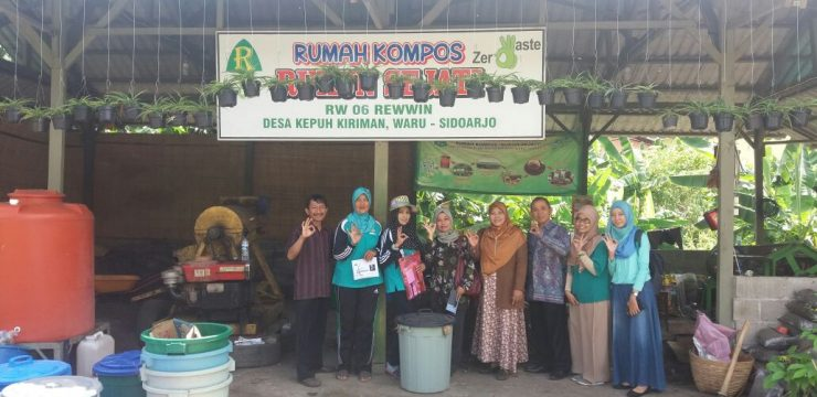 Training of Composting Domestic Organic Waste Using Microbial Decomposer